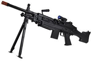 gas powered airsoft assault rifle