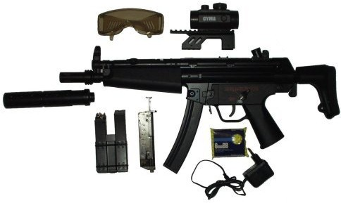 electric airsoft gun complete kit